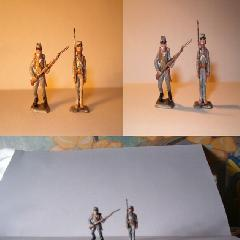 Confederate infantry 1/72