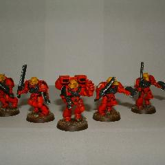 Blood Angels Assault Squad WIP
